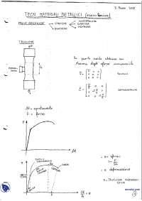 [AP] Tecnologia dei materiali metallici - Esercitazione 1
