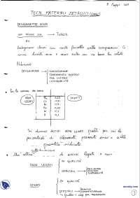 [AP] Tecnologia dei materiali metallici - Esercitazione 5