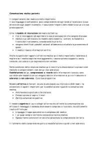 Psicologia della salute - Comunicazione medico paziente [8di12]