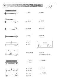 Schemi - Tecnica Delle Costruzioni - Carichi e Reazioni Vincolari