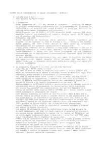 Storia delle Comunicazione di Massa - Domande con risposte [Sociologia]