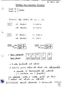 [AP] Materiali per l'industria meccanica - Appunti - Parte 3