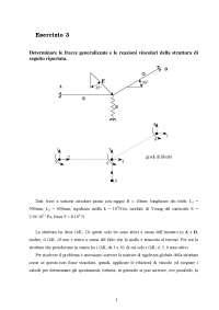 Calcolo automatico dei sistemi meccanici - Esercitazione 3