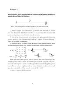 Calcolo automatico dei sistemi meccanici - Esercitazione 2