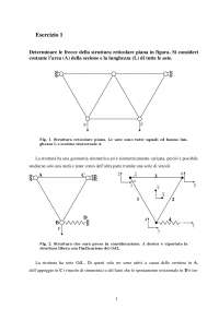 Calcolo automatico dei sistemi meccanici - Esercitazione 1