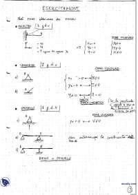 Esercitazioni - Scienza delle costruzioni - Esercitazione 1 - Strutture isostatiche