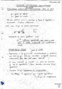 [AP] Scienza delle costruzioni - Esercitazione 2