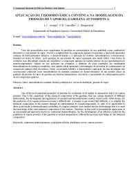 Aplicação da termodinâmica contínua na modelagem dapressão de vapor da gasolina automotiva, Notas de estudo de Química
