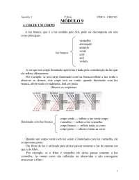 Física 3 : apostila ceesvo - ensino médio, Notas de estudo de Química