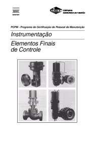Instrumentação - Instrumentos finais de controle, Notas de estudo de Engenharia Elétrica