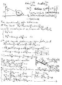 Esame - Statica Meccanica Razionale - Prof