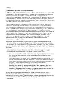 Divorzi canonici e Stato laico -Raffaele Pascali, -Dispensa Diritto Canonico