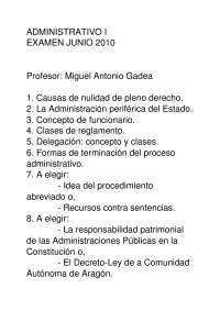 Examen junio 2010 Administrativo I