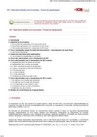 Nota fiscal emitida com incorreções - Formas de regularização, Notas de estudo de Contabilidade
