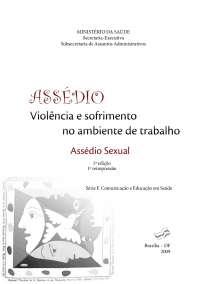 violencia sofrimento trabalho assedio sexual, Trabalhos de Administração Empresarial