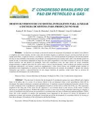 UEP (Unidades Estacionárias de Produção), Notas de estudo de Engenharia de Petróleo