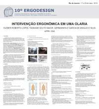 Intervenção Ergonômica em uma Olaria, Notas de estudo de Design