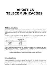 Telecomunicações, Notas de estudo de Engenharia de Telecomunicações