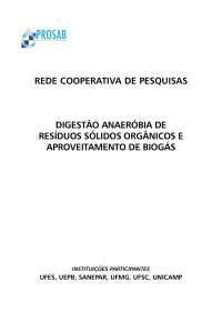 Prosab Stulio, Notas de estudo de Engenharia Ambiental
