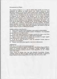 caso farmaco, Notas de estudo de Biomedicina