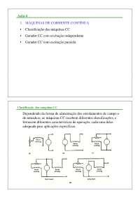 Máquinas Elétricas I - Apostila Unesp [aula 4], Notas de estudo de Engenharia Elétrica