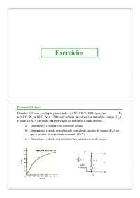 Máquinas Elétricas I - Apostila Unesp [aula 10], Notas de aula de Engenharia Elétrica