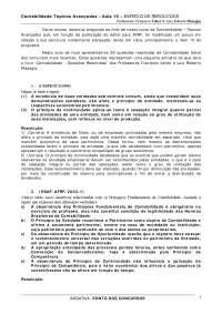 contabilidade topicos avancados 10, Notas de estudo de Engenharia Informática