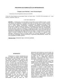 Aspectos Gerais sobre a Fabricação de Refrigerante, Notas de estudo de Engenharia Química