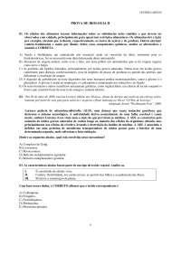 Biologia II, Notas de estudo de Biomedicina