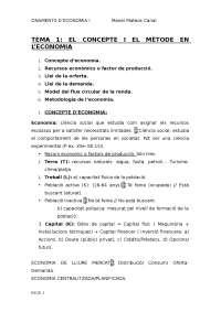 Apunts Fonaments Economia tema:1-6