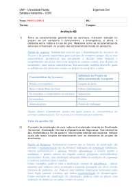 Ea b2 - gabarito, Notas de estudo de Engenharia Civil