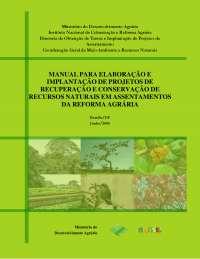 Manual Recup Ambiental Assent, Manuais, Projetos, Pesquisas de Engenharia Agronômica