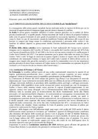 Storia Delle Codificazioni Moderne PROF ANNICHINI Rif: Il novecento di Padoa Schioppa