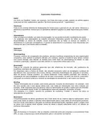 Expressões Corporativas, Notas de estudo de Pedagogia