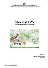 Apostila - Sketch - Up, Notas de estudo de Urbanismo