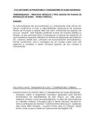 Máquinas de Fluxo, Notas de estudo de Engenharia Sanitária