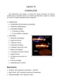 Cosmologia, Notas de estudo de Engenharia Aeronáutica