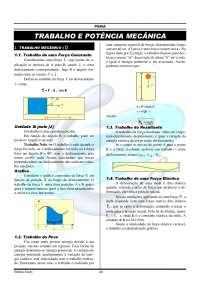 10-trabalho e potência mecânica - física, Trabalhos de Engenharia Aeronáutica