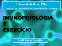Imunologia e Exercicio 01, Exercícios de Educação Física