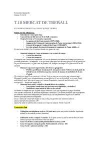 Tema 10 Mercat de Treball