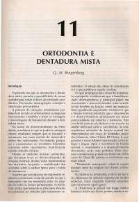 Interlandi 11 - dentadura mista, Notas de estudo de Odontologia