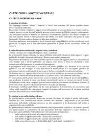 Riassunto esame di Diritto Tributario - Parte generale (Libro consigliato Tesauro)