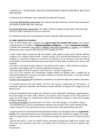 Diritto dell'Unione europea - Riassunto cap.2 - Draetta 2010