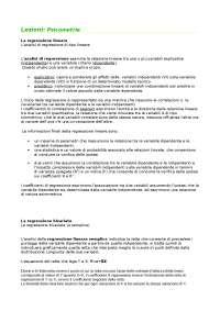 Lezioni di Psicometria - Corso metodologia della ricerca unito. Testo: Analisi dei dati, Barbaranelli
