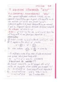 "Ecuacions Diferencial ""EDO"""