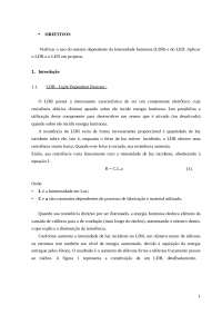 Relatório 7 pronto, Provas de Engenharia Elétrica
