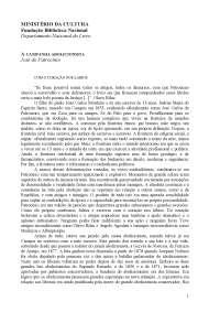 A Campanha Abolicionista - José Carlos do Patrocínio, Notas de estudo de Literatura