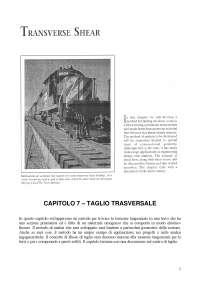 Meccanica - TAGLIO TRASVERSALE