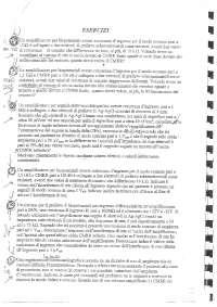 Bioingegneria elettronica - Esercizi
