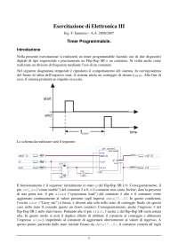 Esercitazione di Elettronica III - Ing. F. Iannuzzo - A.A. 2006/2007 - Timer Programmabile - Uni Cassino
